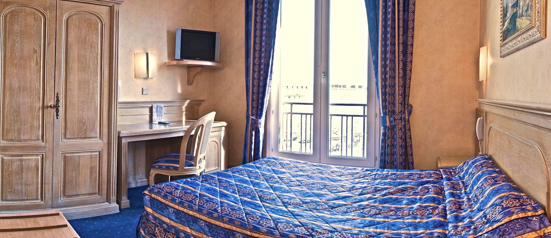 Chambre double Hotel du Midi Paris